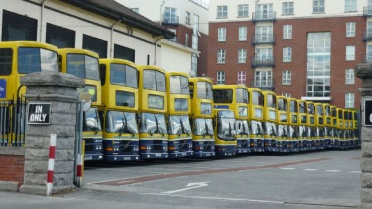 Dublin Bus workers have voted to go on strike in solidarity with Bus