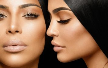 Kim and Kylie lipstick collab or bacon: The internet is VERY confused