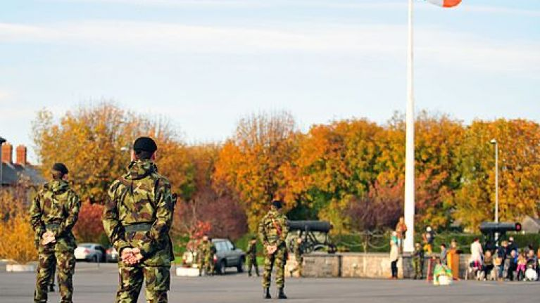 """Defence Forces spouses will protest """"terrible pay and conditions"""" today"""