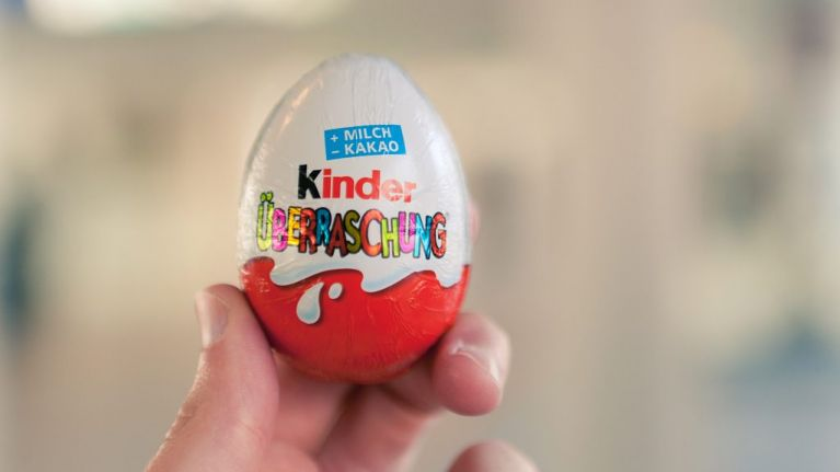 This woman is really mad about the 'absurd' toy in her Kinder Egg