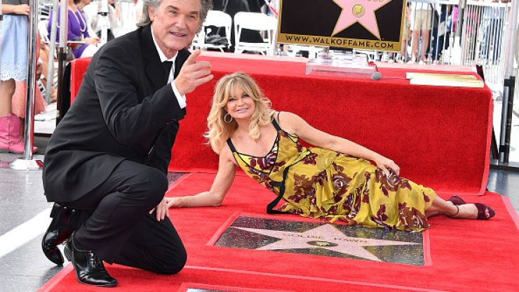 Kurt Russell's tribute to Goldie Hawn at their star ceremony was wonderful