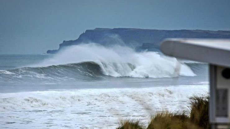 Surfer stranded in the Irish Sea for more than 30 hours found alive
