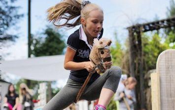 Horsing around: Finnish teens are loving this new hobby