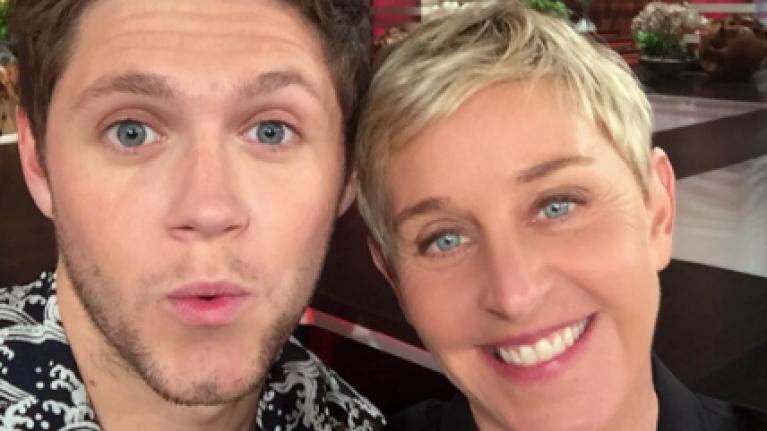 Niall Horan performed his new single Slow Hands on Ellen