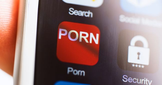 This is how many of us are watching porn alone