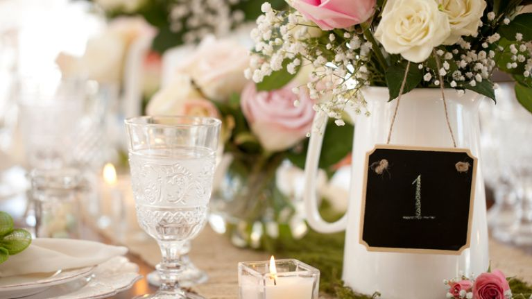 6 wedding centrepieces that aren't all about flowers