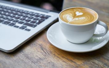 Study shows that drinking coffee can help ease pain, and yes we're delighted