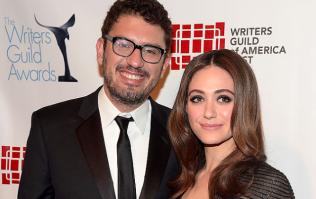 Shameless star Emmy Rossum marries Mr Robot creator Sam Esmail