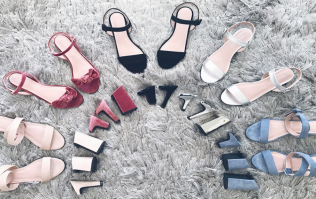 These interchangeable heels could be the pretty answer to our prayers