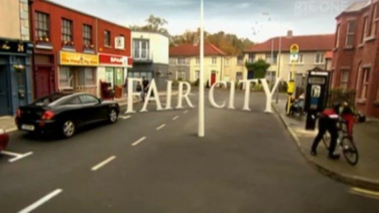 There's going to be a massive scrap in tonight's Fair City and yeah, can't wait