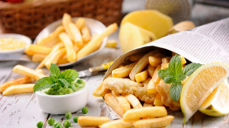 Fish and chips are half price in over 150 chippers all over Ireland today