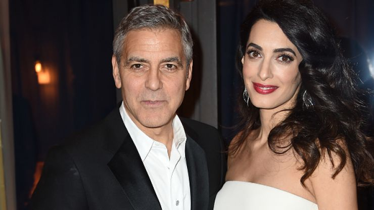 George Clooney on why he and Amal named their twins Alexander and Ella