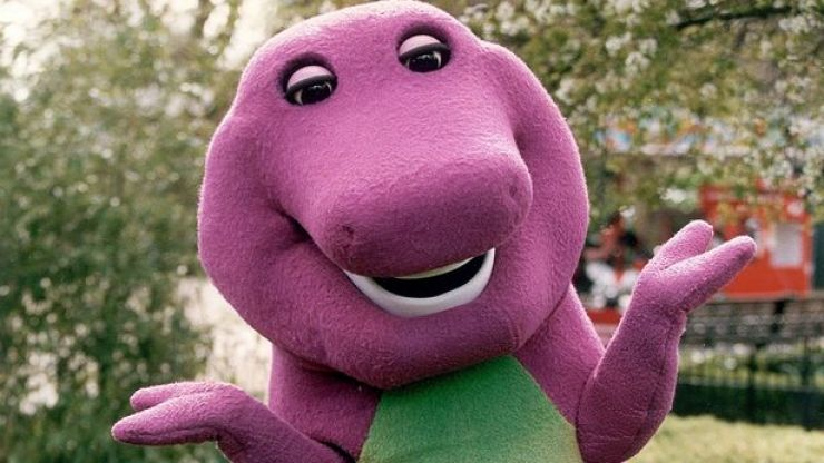 Here's what the guy who played Barney really looks like