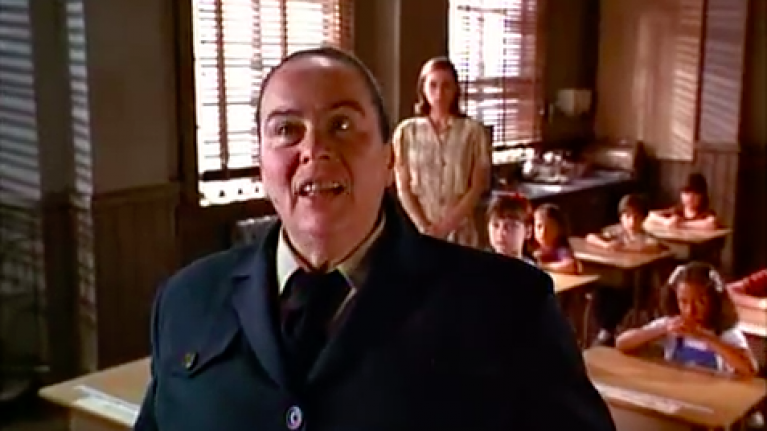miss trunchbull from matilda looks very different in real life her ie