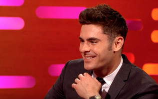 Zac Efron showed us how to work a pole on Graham Norton last night