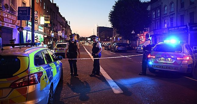 One dead after van drives into pedestrians outside London mosque
