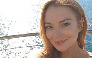 Lindsay Lohan launches her own website... but it doesn't come for free