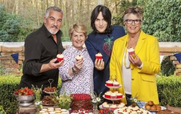 This is where all the leftover cake from Great British Bake Off goes