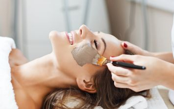 Four Irish department stores are giving away free facials this weekend