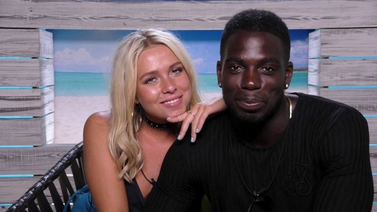 Love Island's Gabby reveals racial abuse over relationship with Marcel