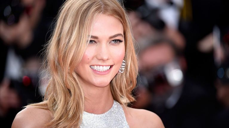 Cool for the summer: Karlie Kloss has gone for a major hair transformation
