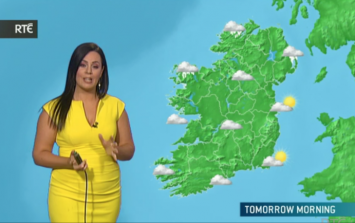 Complaints to Met Éireann over forecasters showing too much underwear