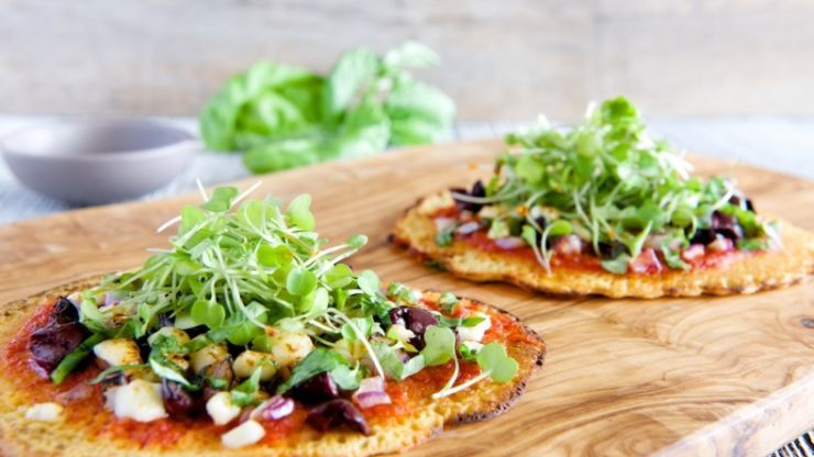 Everyone is OBSESSED with this healthy pizza alternative