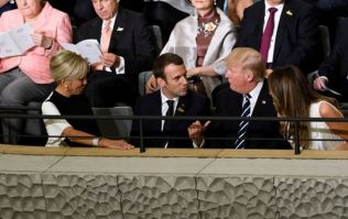 Donald Trump said something very creepy to the French First Lady