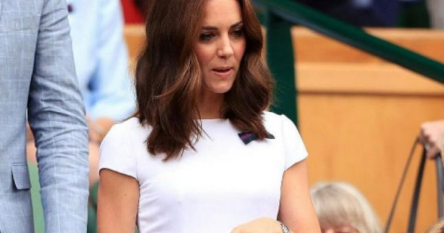 Kate, Pippa and Mirka all opt for white dresses for the men's Wimbledon final