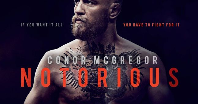 Universal announce Notorious, the official Conor McGregor documentary