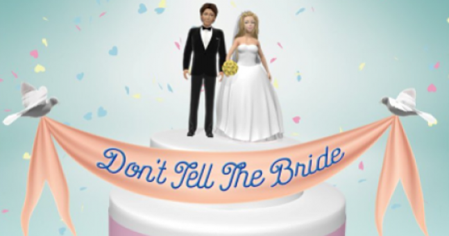 'Don't Tell the Bride' wedding held in the most ridiculous place ever