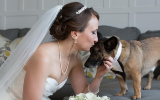 This woman created the dream job so she could have her dog at her wedding