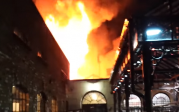 A large fire has broken out in London's Camden Market