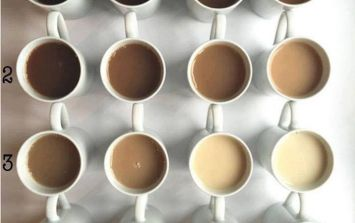 This tea colour chart could divide the country