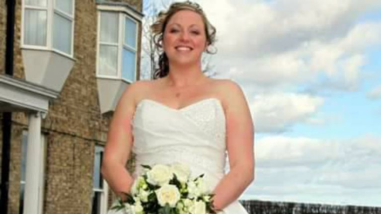 This mum had her wedding dress made into burial gowns for babies ...
