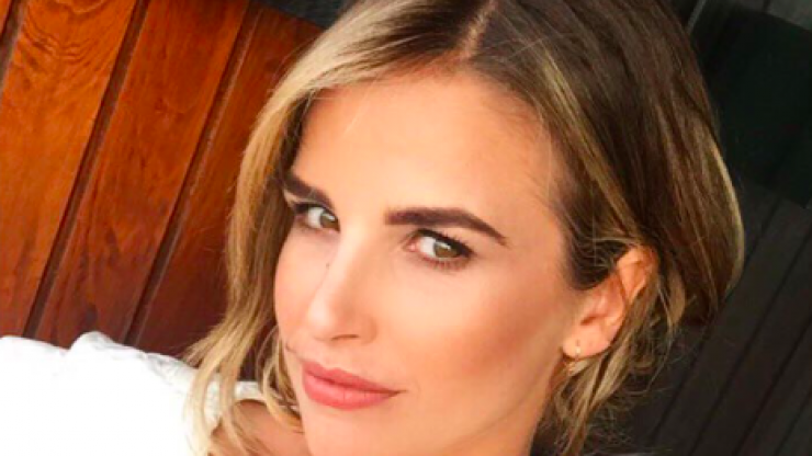 Vogue Williams's glittering ASOS dress has us wanting to buy a Christmas outfit already