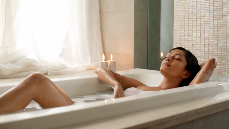Bath time! Time in the tub can help you burn this many calories
