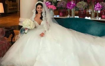 Wedding PARTY! SoSueMe changed into a second bridal gown last night