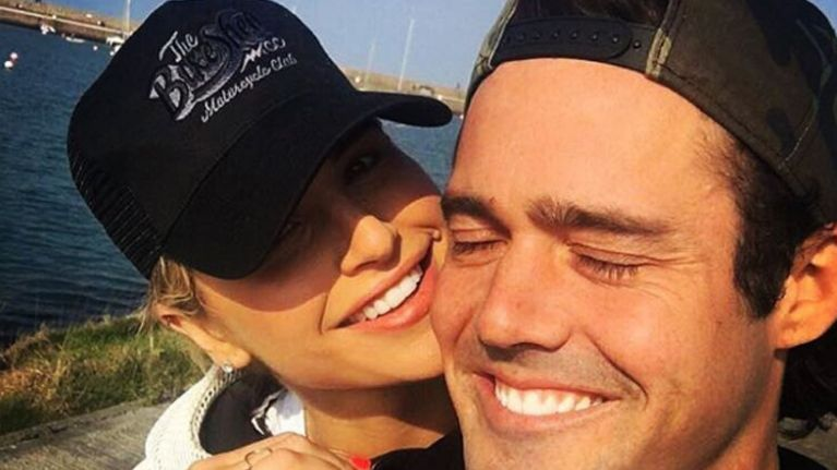 Huge congrats! Spencer Matthews and Vogue Williams are engaged