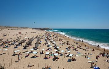 Girl, 8, and one man killed by light aircraft on Portuguese beach