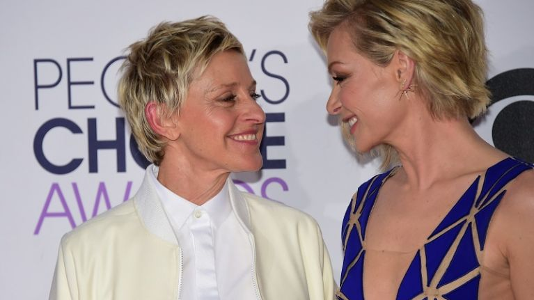 Ellen And Portia Wedding.Ellen Degeneres Celebrates Wedding Anniversary With Touching Post