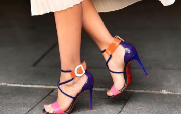 This is why Christian Louboutin shoes always have a signature red sole