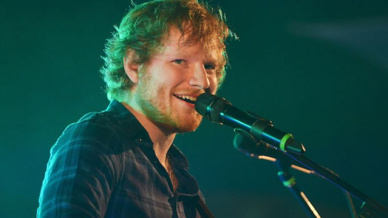 Ed Sheeran brought his Irish roadie on stage to play piano in New