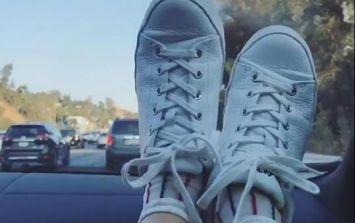 Why you'll never put your feet on the dashboard of a moving car again...