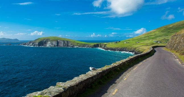 These Irish roads have been name among the best drives in the world