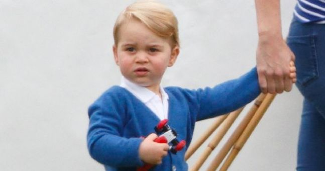 Prince George has been called a 'gay icon' and someone's not happy