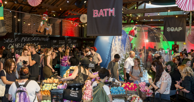 Lush is throwing a bath bomb festival next month and we want in