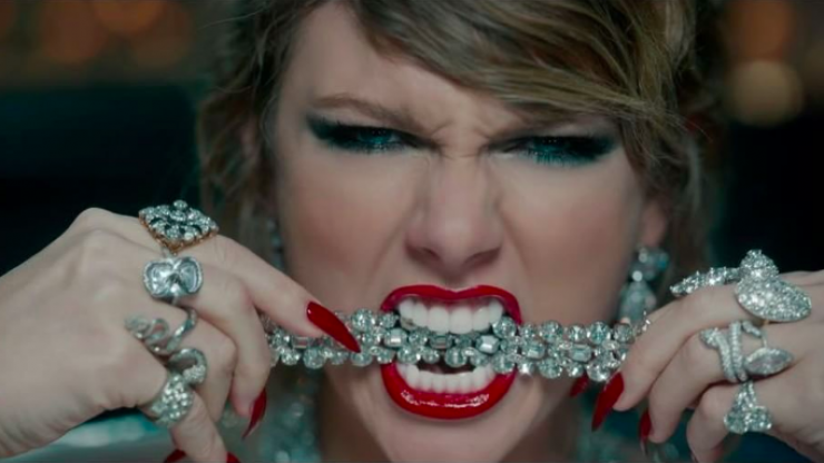 The one thing you probably missed in Taylor Swift's new music video
