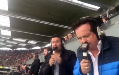 Marty Morrissey went pure Mayo with his reaction to an Andy Moran special