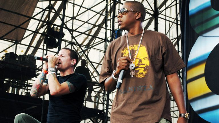 Jay Z pays a special tribute to Chester Bennington as he